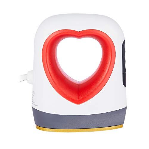 Z ZELUS Mini Prensa de Calor 9x5.8CM con Pantalla LED Mini Máquina de Prensado de Calor Portátil Prensa Térmica para DIY Camisetas, Bolsas, Zapatos y Sombreros