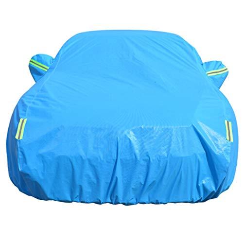 Couverture de voiture Convient pour Ford New Maverick / Mondeo / Fox Housse de protection solaire pour écran solaire Fu Rui Si / Sharp Boundary / Housse de protection pour voiture en aluminium avec fi