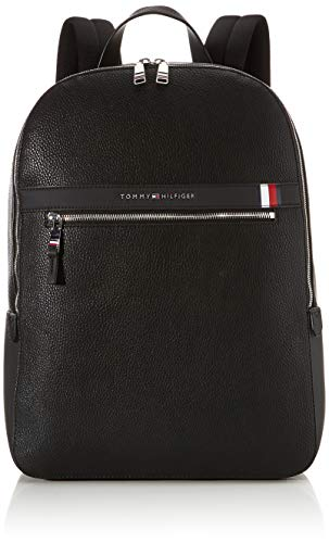 Tommy Hilfiger TH Downtown Backpack, Zaino Uomo, Nero (Black), 1x1x1 centimeters (W x H x L)