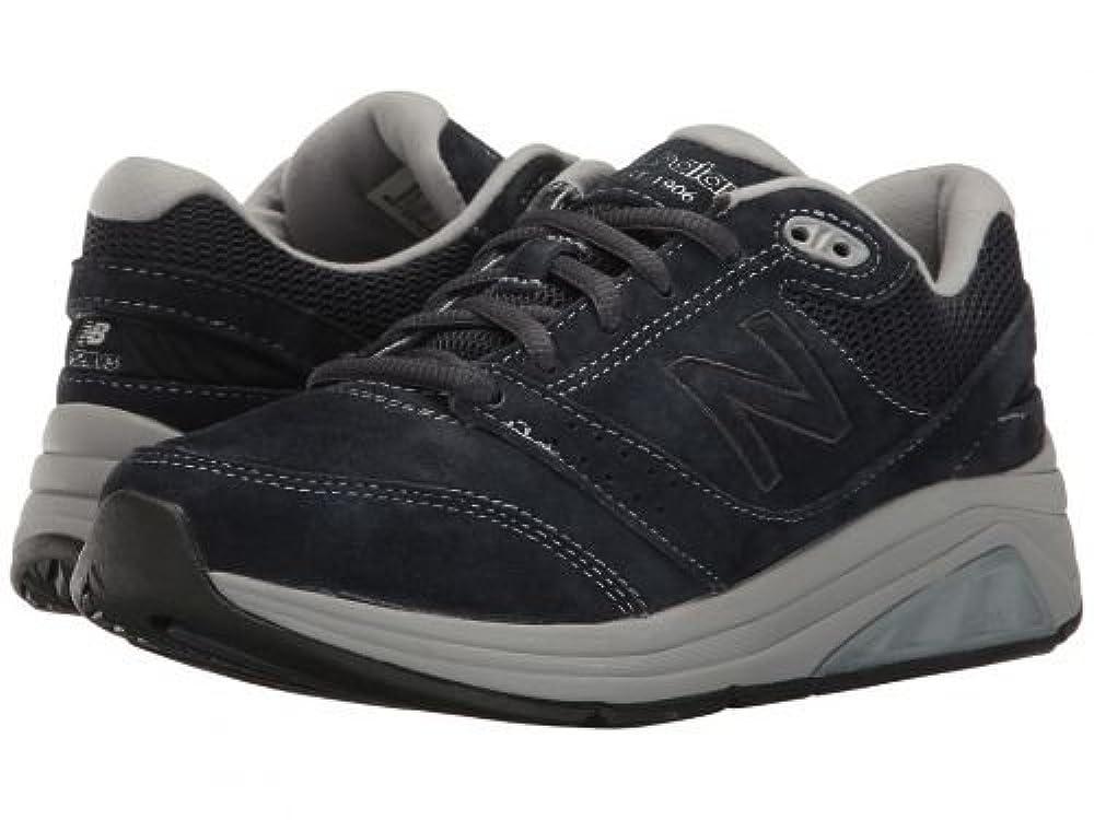 ゲージ結果ナプキンNew Balance(ニューバランス) レディース 女性用 シューズ 靴 スニーカー 運動靴 WW928v3 - Navy/Grey [並行輸入品]