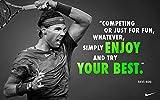 zolto Collection Poster Rafael Nadal Zitate Tennisspieler,