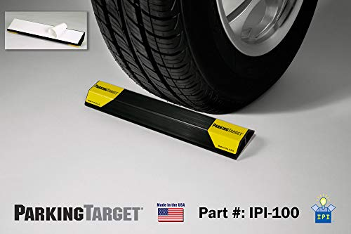 IPI-100: Parking Target - Parking Aid Protects Car and Garage Walls - Easy to Install – Peel and Stick - Only 1 Needed per Vehicle – Mom and Dad and USA Decals Included – Parking Gadget Great Gift Photo #8