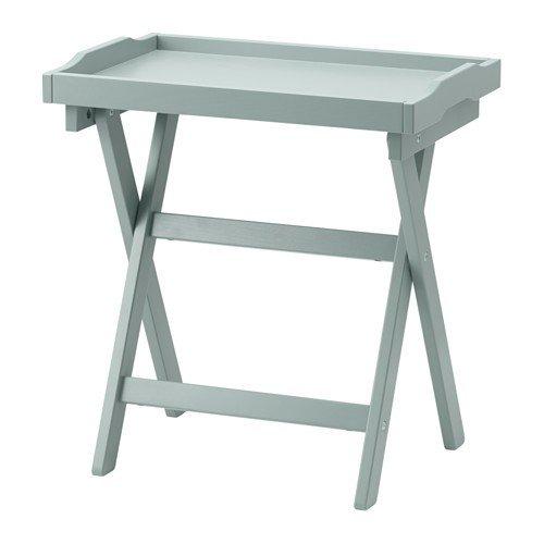 IKEA MARYD Tabletttisch in grün; (58x38x58cm)