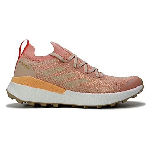 adidas Terrex Two Ultra PRIMEBLUE W, Zapatillas de Trail Running Mujer, RUBAMB/BLAMAR/Rojsol, 40 2/3 EU