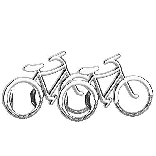 Mila-Amaz 2Pcs Creativo Apribottiglie per Biciclette Creativo Regalo Souvenir Apribottiglie del Portachiavi