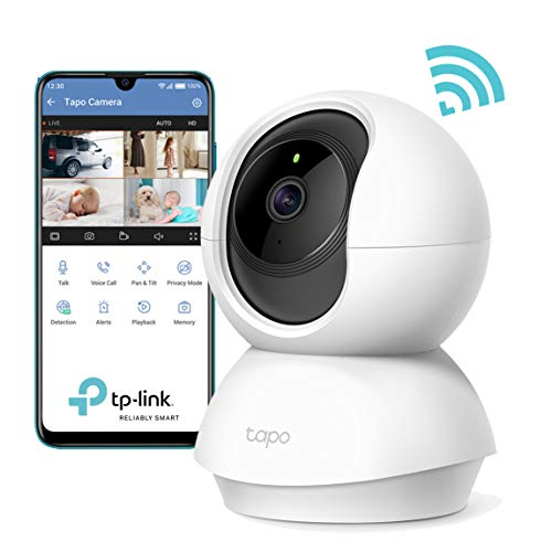 bon comparatif Caméra de surveillance WiFi TP-Link, caméra IP sans fil Tapo 1080P avec fonction de vision nocturne… un avis de 2021