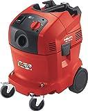 Hilti 2114605 Aspirador universal con limpieza automática del filtro para utilización ocasional en seco y en húmedo, 1200 W, 230 V, Negro Rojo, 505 x 380 x 610 mm