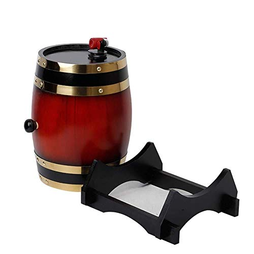 Los barriles de Roble Son adecuados para almacenar Brandy, Tequila, Whisky, Bourbon, Ginebra, Ron, Vodka, Cerveza, Vino Blanco, Sake, agregando nuevos Aromas al Vino, Mini barriles envejecidos WKY