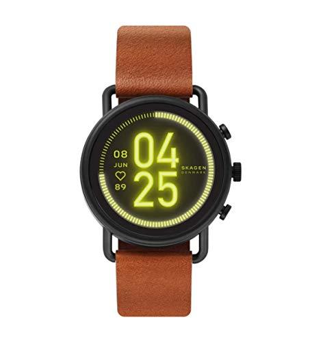 Preisvergleich Produktbild Skagen Smartwatch HR Falster 3 - Tracking der Herzfrequenz,  Google Assistant,  Smartphone Benachrichtigungen,  Aktivitätstracking,  Google Pay und GPS