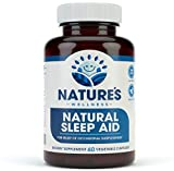 Premium Natural Sleep Aid for Adults - Effective Relief - Non Habit Forming - Wake Up Feeling Refreshed - Proprietary Blend with Melatonin, Tryptophan, Magnesium, Valerian, Chamomile & More - 60 Veg