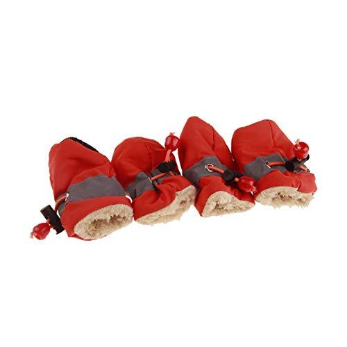 YXDS Zapatos para Perros Zapatos Antideslizantes para Cachorros Zapatos para Perros con...