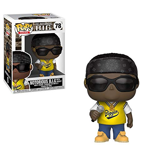Funko 31554 POP Vinyl: Rocks: Notorious B.I.G. Jersey