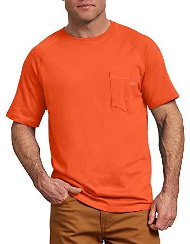 Dickies Men's Short Sleeve Performance Cooling Tee Big-Tall, Spicy Orange, 2T