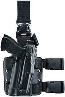 Safariland 6305 ALS Tactical Leg Holster with Detachable Leg Harness, Black, STX, Glock 19 with M3