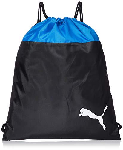 Puma teamGOAL 23 Gym Sack, Sacca Sportiva Unisex-Adult, Electric Blue Lemonade Black, OSFA