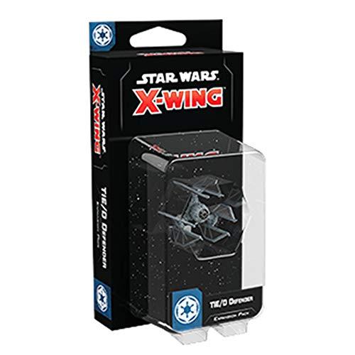 Fantasy Flight Games FFGSWZ60 Star Wars X-Wing 2da edición: Tie/D Defender Expansion, Varios