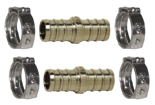 Repair Kit w/Cinch Clamps, PEX, 3/4