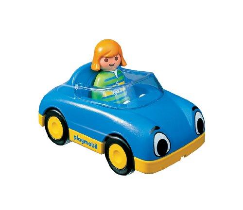 プレイモービル『1・2・3シリーズオープンカー(6758)』