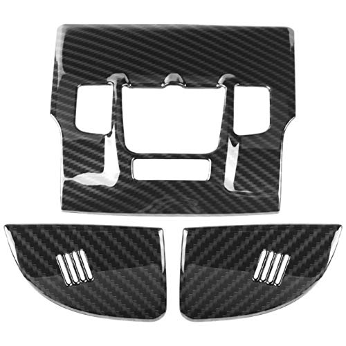 Pegatinas De Marco Embellecedor De Cubierta De Lámpara De Luz De Lectura Delantera Interior De Coche Estilo Fibra De Carbono para Maserati para Levante 2017 2018