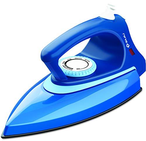 Bajaj Canvas Metallique Blue Dry Iron 1000W, Regular