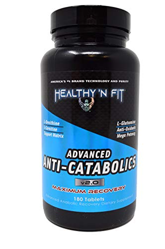 Healthy 'N Fit - Anti Catabolics 180 tab, Maximum Recovery Glutamine, Ornathine and Carnitine