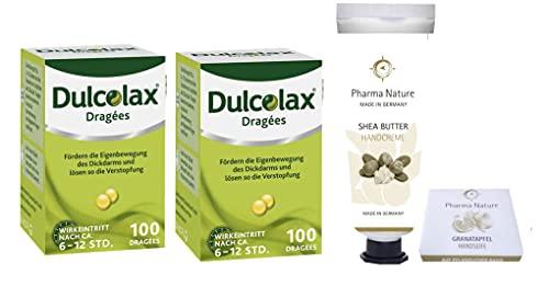 Dulcolax 2 x 100 Dragees Sparset inkl. einer Handcreme ODER Handseife von Pharma Nature