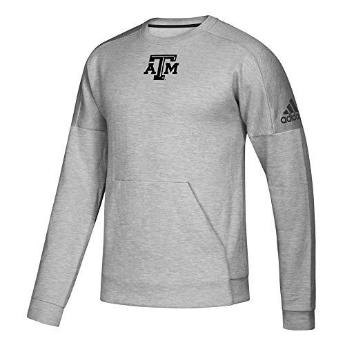 adidas NCAA Herren Pullover Fleece, Herren, TAMPH83, grau, Small