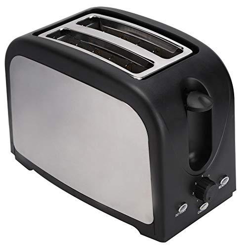 Broodrooster Broodbakmachine, Huishoudelijke Multifunctionele Elektrische Automatische Broodrooster Broodbakmachine Broodmachine EU Plug 250V Moerdispenser, Anti-aanbak Keramische Pan & Digitaal Aanra