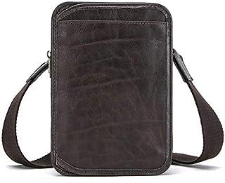 Bolsos de viaje de piel de vaca Natural MAHEU, bolsos