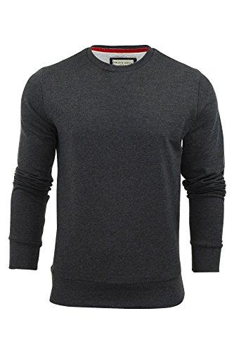 Brave Soul Sweat-shirt col V pour homme - Gris - Large