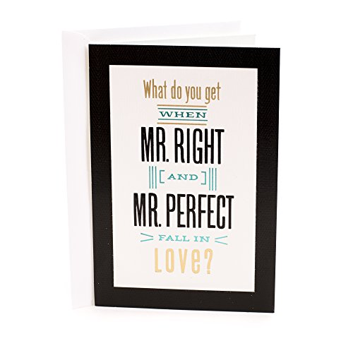Hallmark Wedding Card for Two Grooms (Perfectly Right)