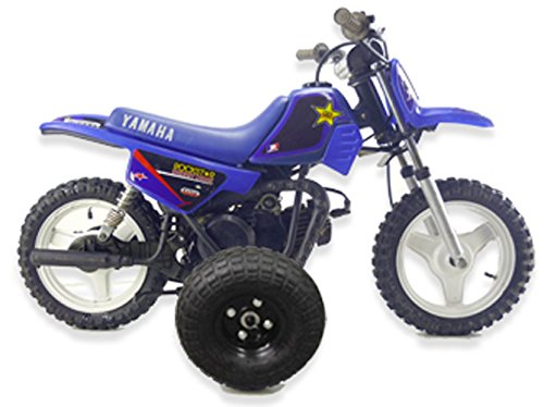 BYP_MFG_INC Adjustable Height Yamaha PW50 PW 50 Kids Youth - Training Wheels ONLY -
