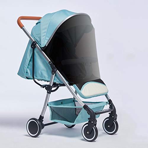 Xiaoli Sillas de Paseo Cochecito De Bebé con Portavasos Canasta De Almacenamiento Mosquitera Sombrilla, Carro De Bebé Reclinable Ligero Y Plegable Sentado Cochecito de bebé (Color : D)