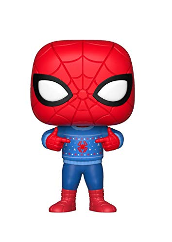 FUNKO POP! MARVEL: Holiday - Spider-man w/ Ugly Sweater