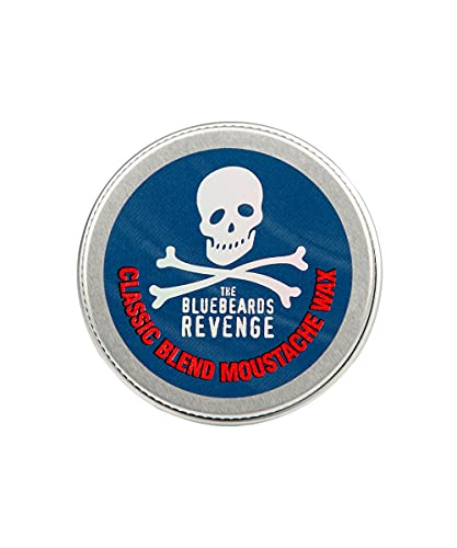 The Bluebeards Revenge, Classic Moustache Wax, Strong Hold For Styling Moustache And Beard, 20ml
