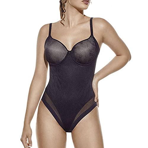 Selene Violeta Bodi modeladora, Negro, 105C para Mujer