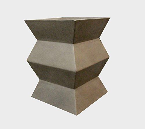 Meubletmoi kruk van beton, decoratief, bijzettafel, moderne loft- en industriële stijl