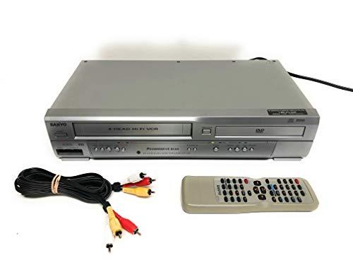Sanyo DVW-7200 DVD/VCR Combo, DV...