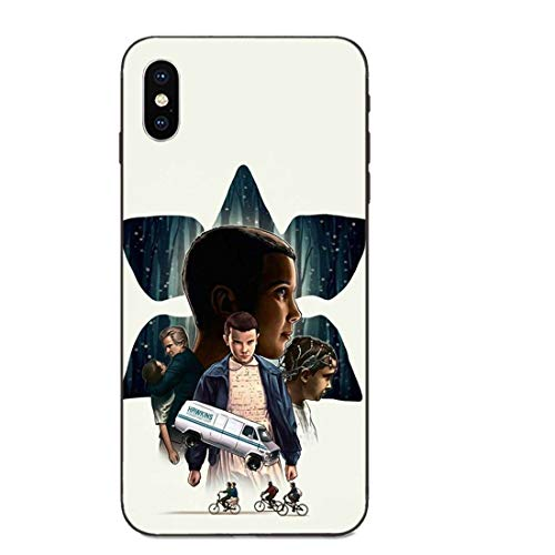 LvShui Stranger Things Galaxy S6 Edge Funda Carcasa Case Cover Stranger Things Eleven para Samsung Galaxy S6 Edge (Series 4)