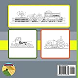 Zoom IMG-1 barney farm vehicles coloring book