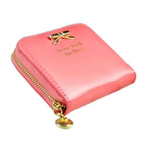 Runfon Portemonnaie Brieftasche Geldbörse für Frauen Mode Mini Geldbörse (anda)