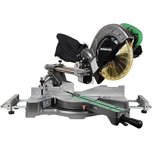 Metabo HPT Sliding Compound Miter Saw, 8-1/2-Inch Blade, 9.5 Amp Motor with Adjustable Pivot Fence and 5 Year Warranty.