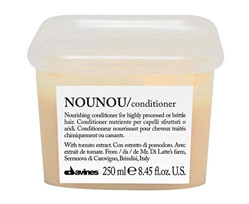 Essential Haircare Crème nourrissante après-shampooing Nounou Nourishing Illuminating - Excellent pour les cheveux colorés ou traités aux produits chimiques - 250 ml (8,45 oz)