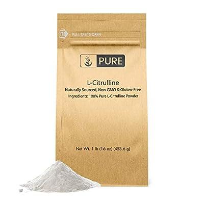 L-Citrulline Powder (1 lb) Pure & Potent Non-Essential Amino Acid, Preservative-Free, Vegan, Non-GMO & Gluten-Free