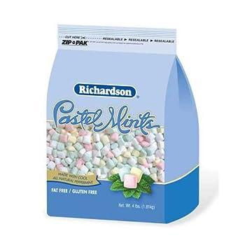 Richardson Pastel Mints - 4 lb stand up bag 6 per case
