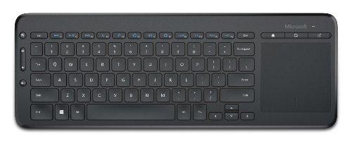 Microsoft N9Z-00028 All-in-One Media Keyboard USB Port Eng Intl Row Hdwr,Black