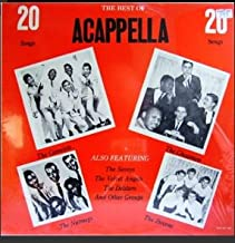 The Best of Acapella : 20 Songs LP