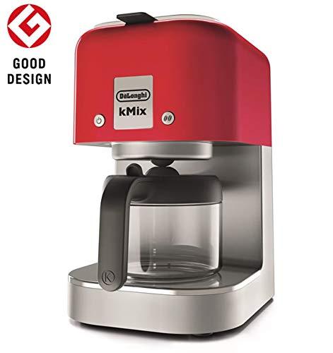 デロンギ ドリップコーヒーメーカー スパイシーレッド COX750J-RD