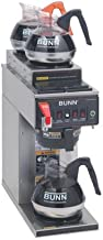 Bunn 12 Cup Dual Voltage Coffee Brewer with 3 Warmers -CWTF-DV-3-0410