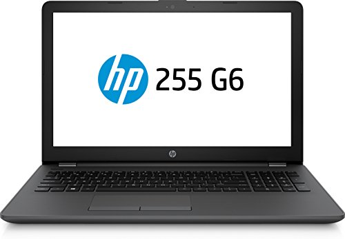 "HP 255 G6 - Ordenador portátil de 15.6"" (Wi-Fi y Bluetooth 4.2, AMD E-Series 1.5 GHz, memoria interna de 1 TB, 4 GB de RAM, Windows 10 Home) color negro, teclado QWERTY español"